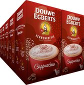 Bol.com-Douwe Egberts Verwenkoffie Cappuccino Oploskoffie - 10 x 10 zakjes-aanbieding