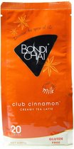 Bondi Chai Latte Club Cinnamon - Glutenvrij - 20 glazen - populair - minder vet