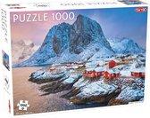Puzzel Around the World, Nothern Stars: Hamnoy Fishing Village - 1000 stukjes