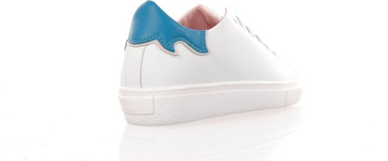 "Fiamme Wit/turquoise Damessneaker ""1402 Colab L 'officiel"" Maat 36 3dlDL3"