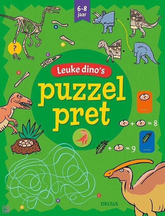 Puzzelpret 0 - Puzzelpret - Leuke dino's 6-8 j. - ZNU |