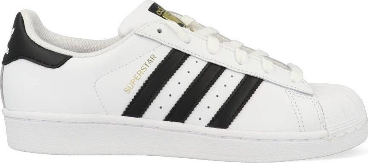 adidas Superstar Heren Sneakers - Ftwr White/Core Black - Maat 44 2/3