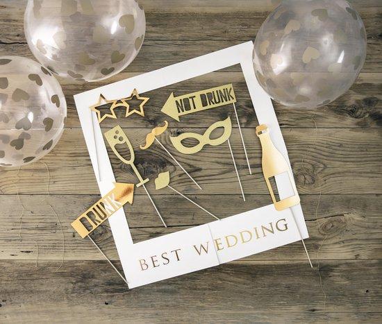 Selfie Foto frame kit - Best Wedding