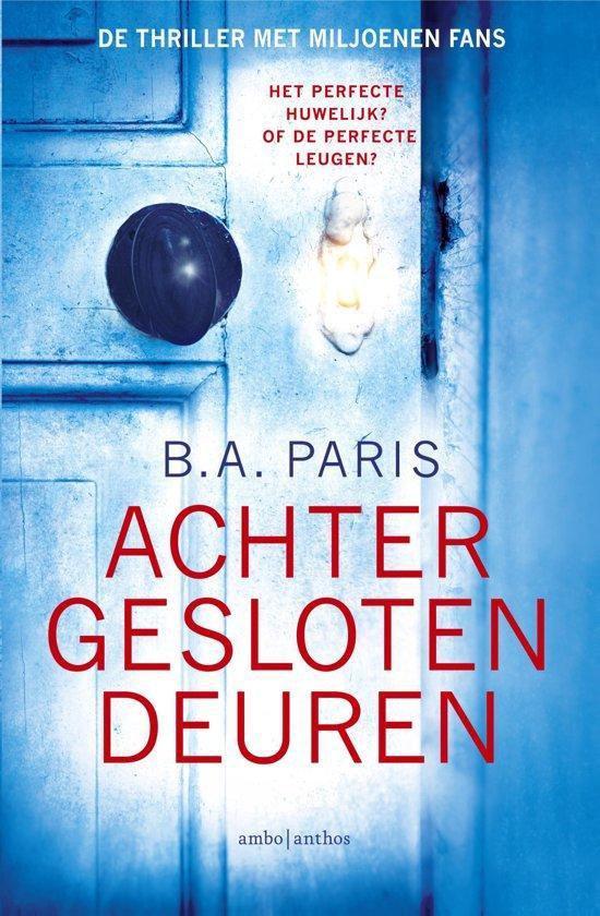 Boek cover Achter gesloten deuren - special Kruidvat van B.A. Paris (Paperback)