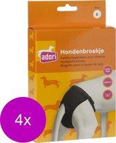 Adori Hondenbroek Luxe Zwart - Hondenloopsheid - 4 x Small