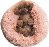 Donutmand - Hondenmand - Kattenmand - Hondenmand Donut - Slaapbed voor huisdier - Rond - Roze