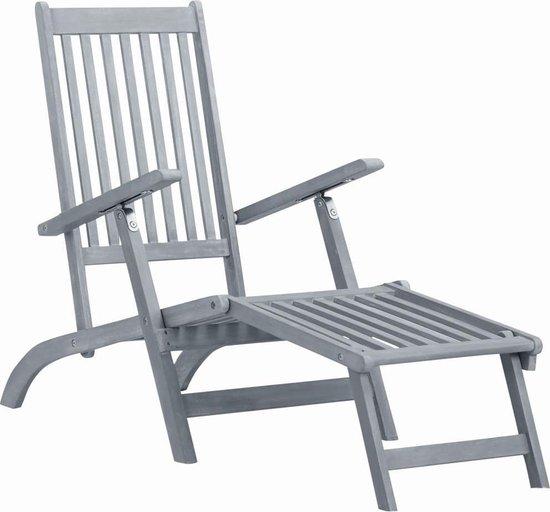 Tuinstoel (Incl LW Fleece deken) Tuin stoelen Buiten stoelen Balkon stoelen Relax stoelen Schommelstoel