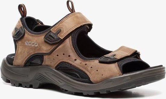 ECCO Terracruise leren heren sandalen - Bruin - Maat 47