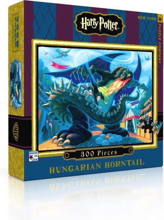 Harry Potter 'Hungarian Horntail' puzzel - 300 stukjes - The New York Puzzle Company