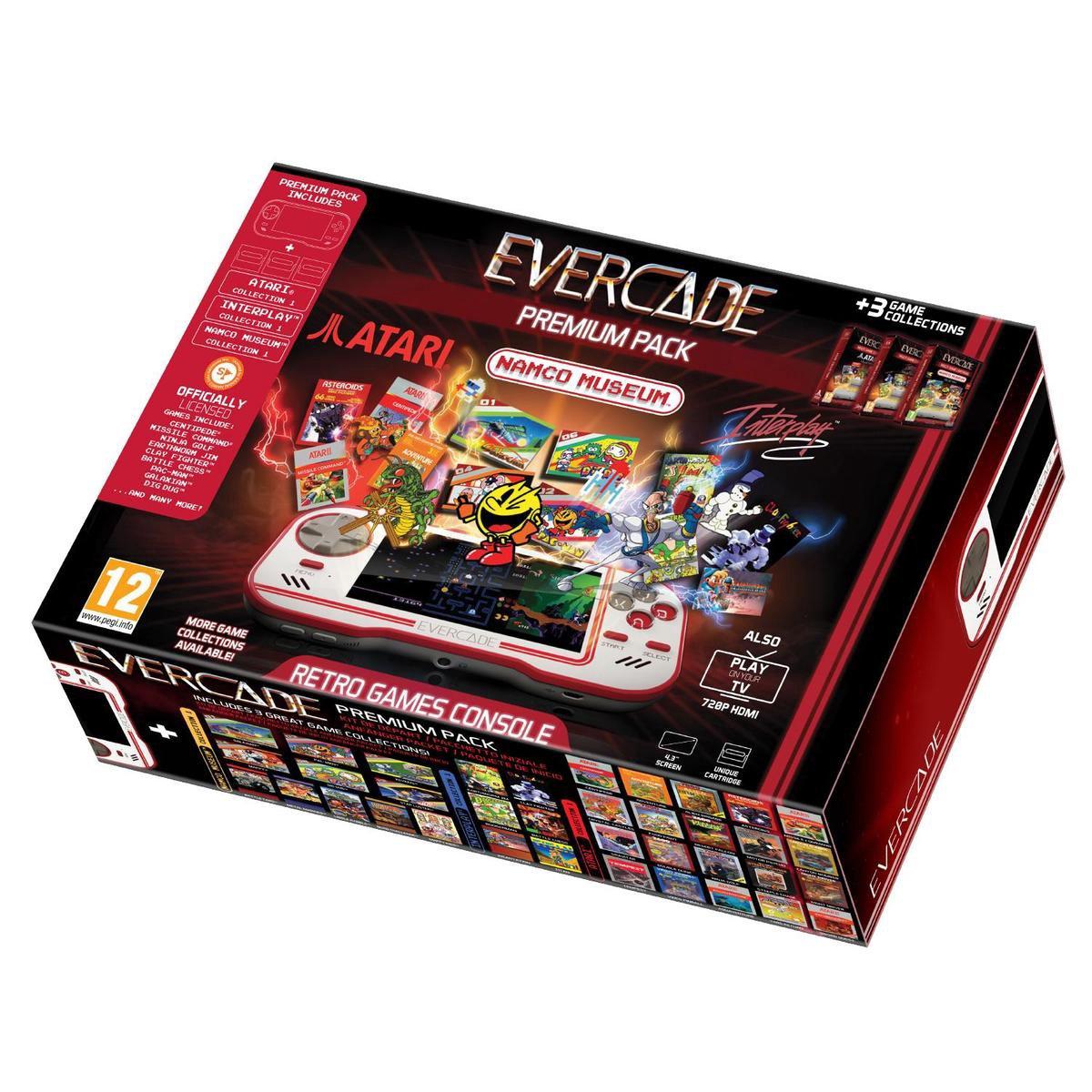 Evercade Premium Pack +3 (Handheld Console)