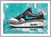 Nike air max 1 Atmos Elephant painting (reproduction) 71x51cm