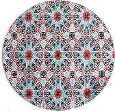 Moodadventures   Muismatten   Muismat Rond Kaleidoscoop   20 x 20 cm.