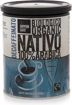Goppion Caffè Nativo Decaf (koffie, gemalen, biologisch, fairtrade, 250gram)