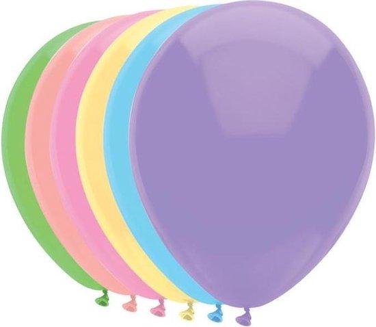 Haza Original Ballonnen Pastel Mix 30 Cm 100 Stuks