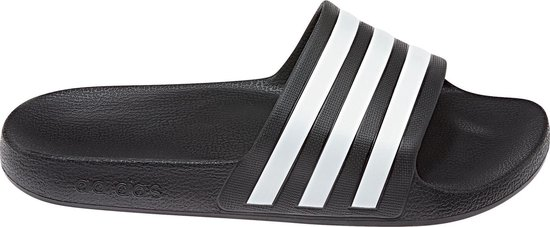 adidas Adilette Aqua Heren Slippers - Core Black/Ftwr White/Core Black -  Maat 36 2/3