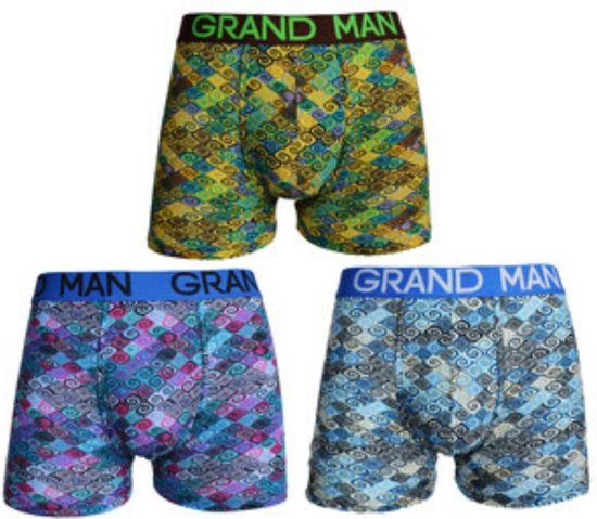 Grand Man 3-PACK 5018 - M SIZE