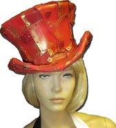 Rode Steampunk Foam hoed