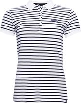 Superdry Dames STRIPE POLO SHIRT Polo S