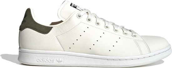 adidas Sneakers - Maat 40 2/3 - Unisex - wit/armygroen