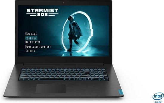 """Lenovo IdeaPad L340 Gaming Notebook Zwart 43,9 cm (17.3"""") 1920 x 1080 Pixels Intel® 9de generatie Core™ i7 8 GB DDR4-SDRAM 512 GB SSD NVIDIA® GeForce® GTX 1650 Wi-Fi 5 (802.11ac) Windows 10 Home"""