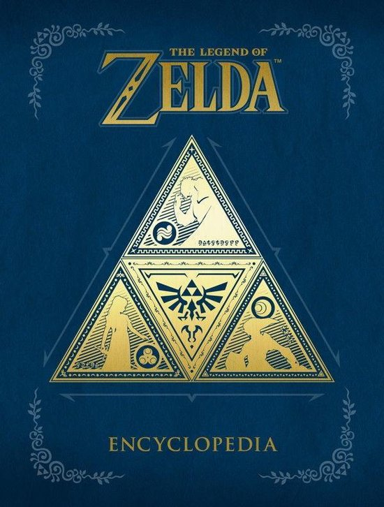 Boek cover The Legend Of Zelda Encyclopedia van Merkloos (Paperback)