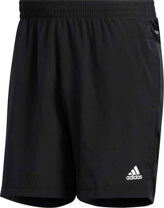 adidas Run It 3-Stripes PB  Sportbroek - Maat L  - Mannen - zwart/wit
