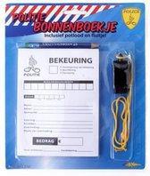 Bonnenboek - Met potlood & fluit - Politie