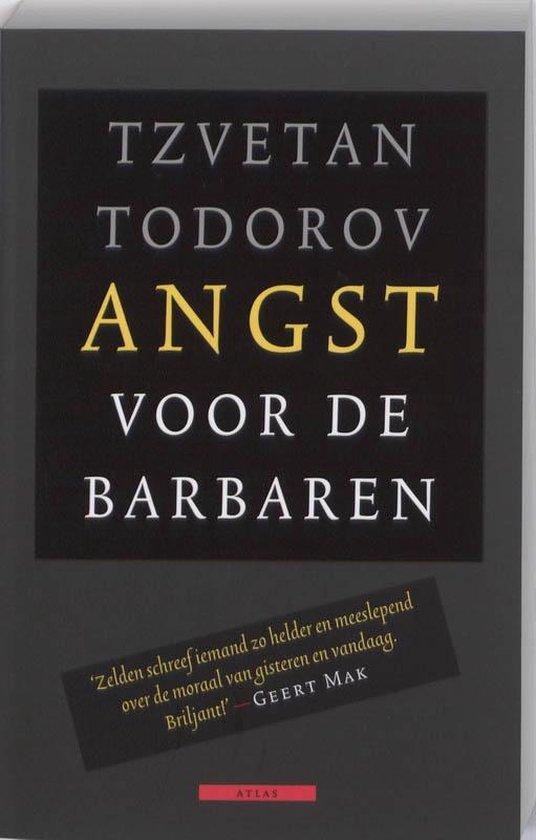 Boek cover Angst voor de barbaren van Tzvetan Todorov (Paperback)