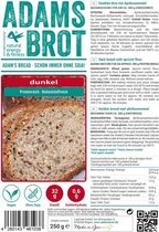 Adam's fitness Food Adam's Brot - 250 gram - Donker