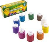 Crayola 10 Potjes met afwasbare verf