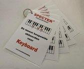 Akkoorden - de meest bespeelde akkoorden voor keyboard (piano)