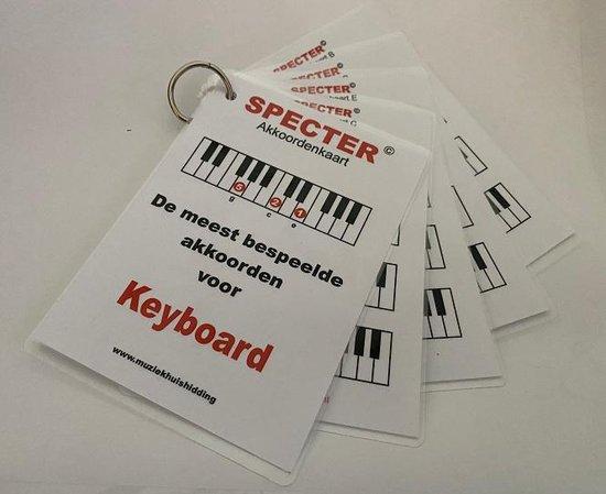 Akkoorden - de meest bespeelde akkoorden voor keyboard (piano) - H Hidding |