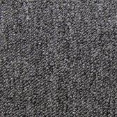 20 x Tapijttegels - Tapijt tegel set - 50x50cm 5m2 - Antraciet - Stevig geweven tapijt - Makkelijk te plaatsen