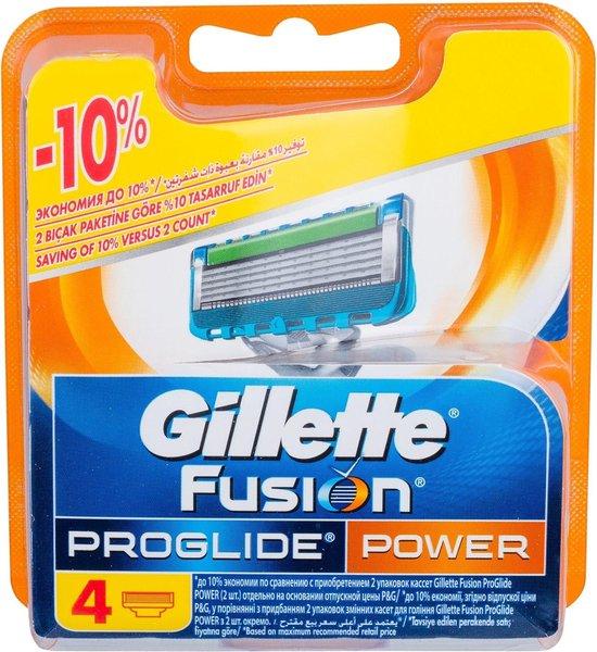 Gillette Fusion Proglide Power scheermesjes 4st