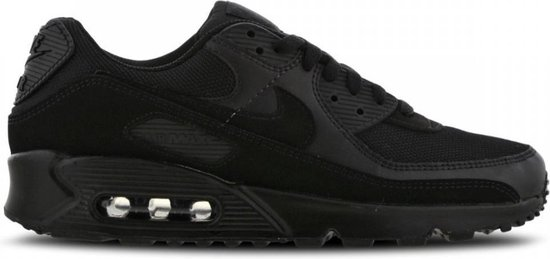 Nike Air Max 90 Heren Sneakers - Wolf Grey/Wolf Grey/Black - Maat 40