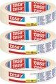 Set van 3x Afplaktape/schilderstape 19 mm x 25 m - Verf afplakband/tape - Maskeertape - Tesa Masking tape