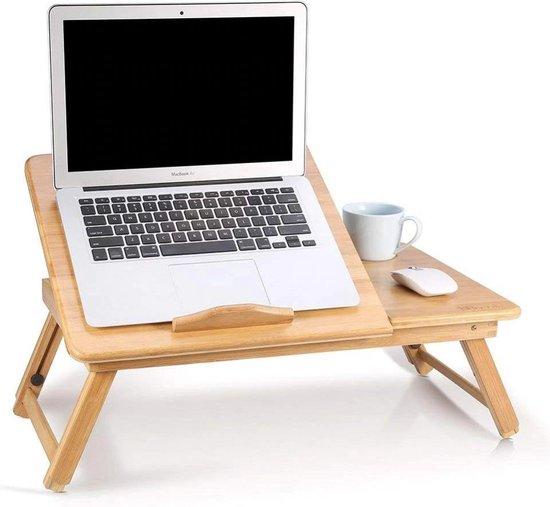 Verwonderlijk bol.com | Laptoptafel voor op Bed of Bank – Bedtafel Laptop voor KY-02