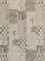 Vintage vloerkleed - Patchwork - Tapijten woonkamer - Ristretto - 170x240