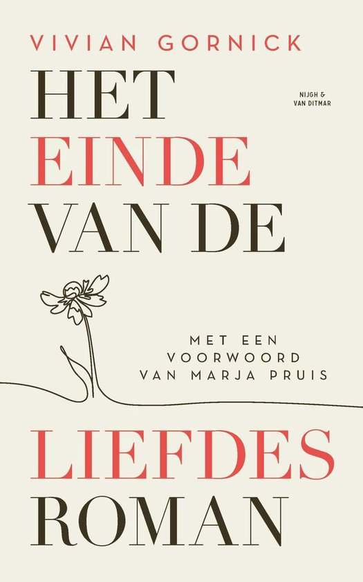 Het einde van de liefdesroman - Vivian Gornick | Fthsonline.com