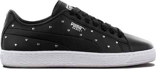 Puma Basket Studs - Dames Fashion Sneakers Schoenen Sportschoenen Zwart  369298-02 - Maat EU 36 UK 3.5