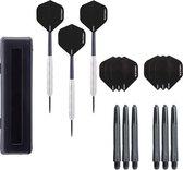 Dragon darts – Victory Line - 23 gram - dartpijlen – inclusief 3 sets (9 stuks) – darts shafts – en 3 sets (9 stuks) – darts flights