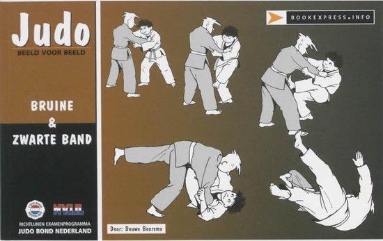 Cover van het boek 'Judo beeld voor beeld / 1e Kyu bruine band / 1e dan zwarte band'