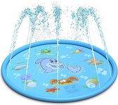 Water Fontein - Opblaasbare Waterspeelmat - Hoge Kwaliteit  - Water Speelmat   - Speelkleed Aquamat - Speelgoed - Watermat