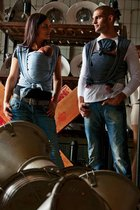 ByKay Draagdoek - Dark jeans