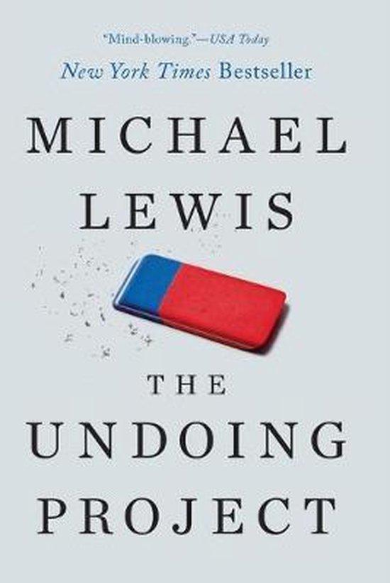 Boek cover The Undoing Project van Professor Michael Lewis (Paperback)