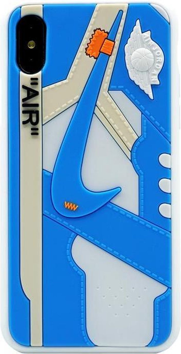 Afbeelding van product iPhone Case - AJ1 Off-White University Blue - iphone 11 hoesje -iphone hoesje
