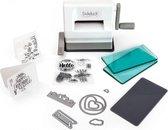 Sizzix Sidekick Mini Stans en Embossing Machine, Snijmachine voor Papier, Cardstock en Knutsel Karton, voor Kaarten Maken Hobby en Scrapbooking