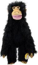Handpop Chimp met banaan 55 cm