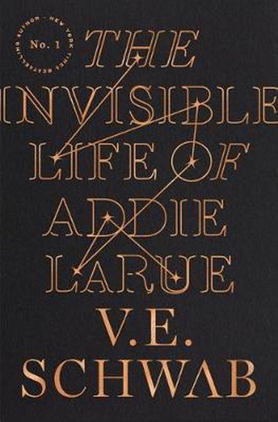 Boek cover The Invisible Life of Addie Larue van V. E. Schwab (Hardcover)