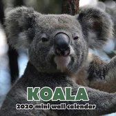 Koala 2020 Mini Wall Calendar